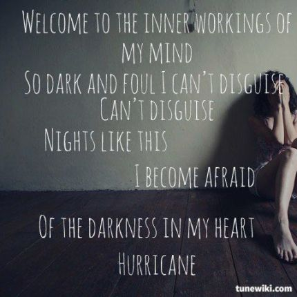 lyrics hurricane