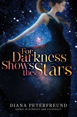 cover for darkness shows the stars