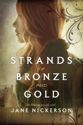 cover strands of bronze and gold