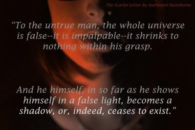 quote to the untrue man
