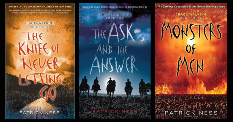 series chaos walking trilogy