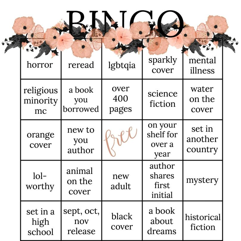 book bingo fall