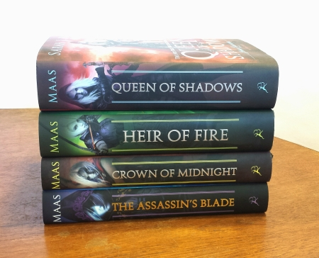 My gorgeous TOG books (which for some reason don't include TOG itself)