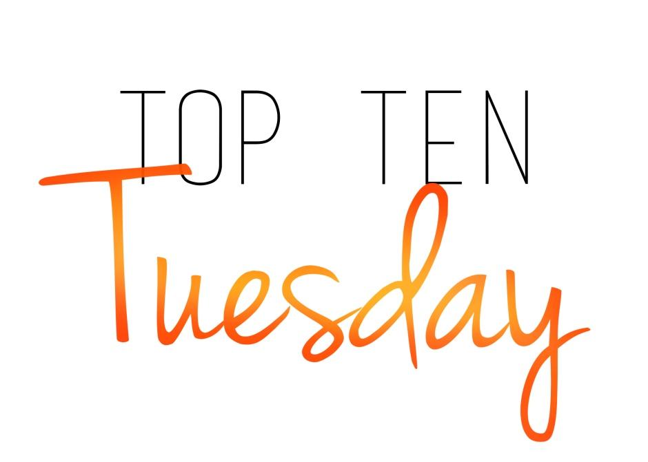 top ten tuesday orange 2