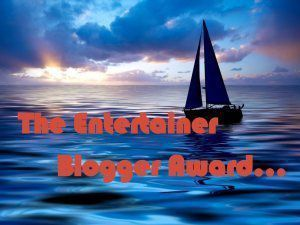 the entertaining blog award