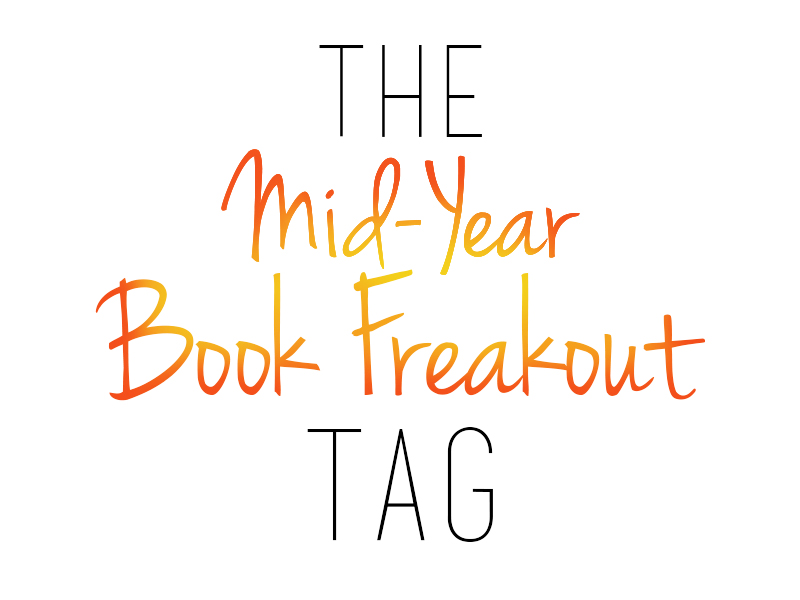 mid year book freakout tag